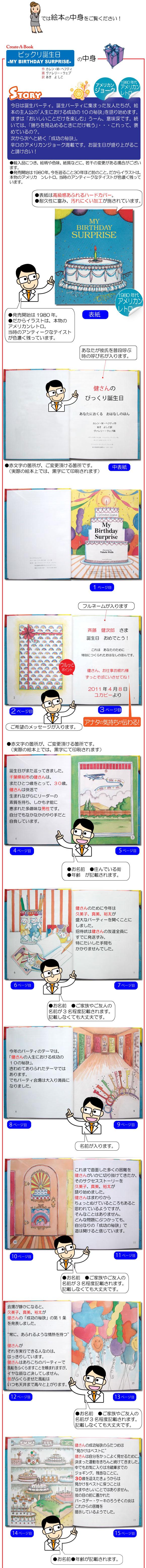 絵本のサンプルページ