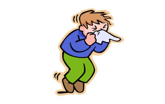 風邪を表現するイメージ