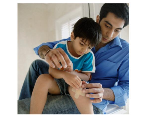 お父様と息子さんを表現するイメージ